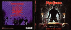 Night Demon - Curse Of The Damned - Digipack