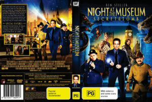 Night at the Museum: Secret of the Tomb dvd cover