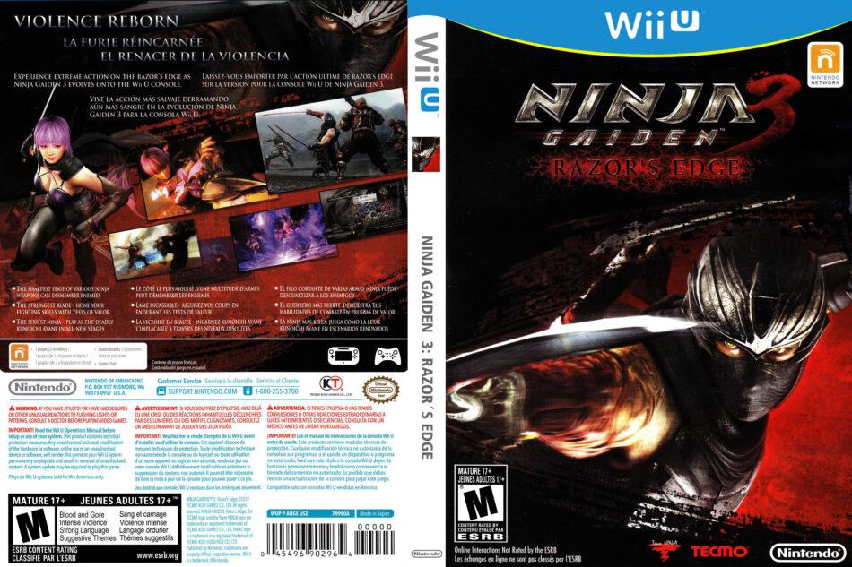 Ninja Gaiden 3 Razor S Edge 2012 Ntsc Dvdcover Com