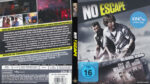No Escape (2015) R2 Blu-Ray Custom DVD Cover German