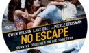 No Escape (2015) R0 Custom Label