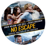 No Escape (2015) R0 Custom Label