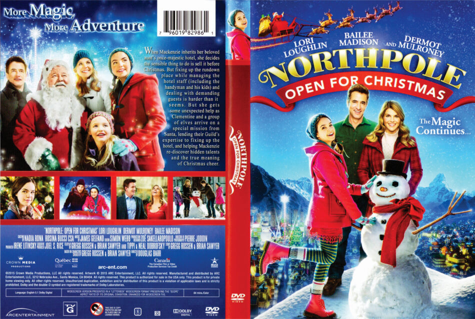 Northpole Open For Christmas.Northpole Open For Christmas Dvd Cover 2015 R1