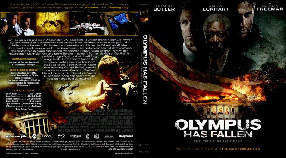 Olympus Has Fallen Blu Ray Dvd Cover 2013 German