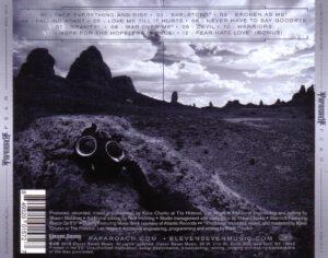 Papa Roach - F.E.A.R. - Back