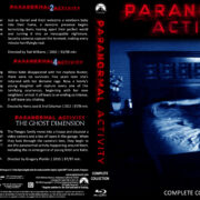 Paranormal Activity Complete Collection (2015) Blu-Ray Custom Cover