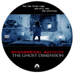 Paranormal Activity: The Ghost Dimension (2015) R0 Custom label