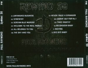Paul Raymond - Rewind 50 - Back