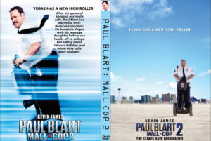 Paul Blart: Mall Cop 2 dvd cover