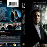Person Of Interest: Season 1 (2011) R1 Blu-Ray DVD Cover & Label