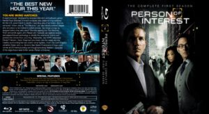 Person Of Interest - T01 (Completa) (Blu-Ray) dvd cover