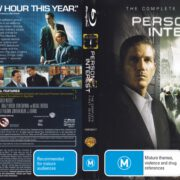 Person Of Interest: Season 1 (2011) R4 Blu-Ray DVD Cover