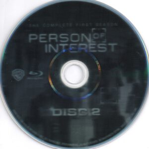 Person Of Interest - T01 - D2 (Blu-Ray)