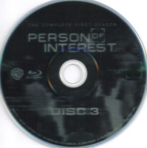 Person Of Interest - T01 - D3 (Blu-Ray)