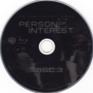 Person Of Interest - T01 - D3 (Blu-Ray),