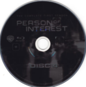 Person Of Interest - T01 - D4 (Blu-Ray),