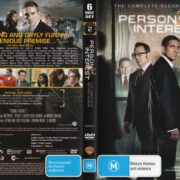 Person Of Interest: Season 2 (2012) R4 DVD Cover