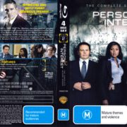 Person Of Interest: Season 2 (2012) R4 Blu-Ray DVD Cover
