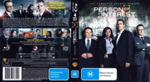 Person Of Interest - T02 blu-ray dvd cover