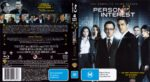 Person Of Interest: Season 3 (2014) R4 Blu-Ray DVD Cover