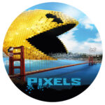 Pixels (2015) R0 Custom Label