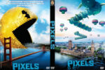 Pixels (2015) Custom DVD Cover
