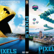 Pixels (2015) Custom DVD Cover