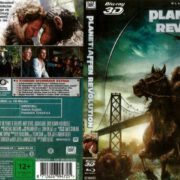Planet der Affen-Revolution 3D Blu-Ray German (2014)