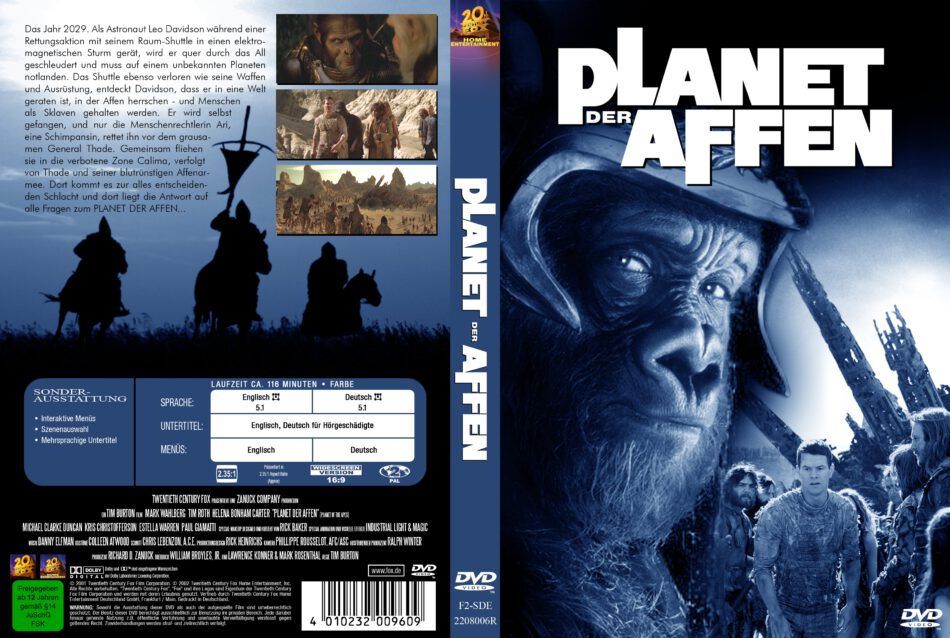 planet der affen 2001 stream