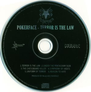 Pokerface - Terror Is The Law (EP) - CD
