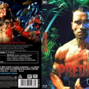 Predator (1987) Blu-Ray German Cover & Label