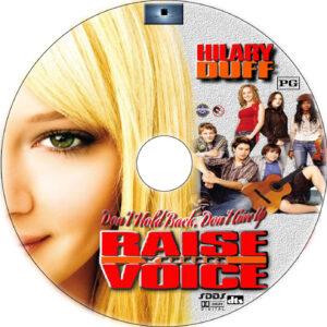 raise your voice dvd label