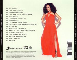 Rebecca Ferguson - Lady Sings The Blues - Back