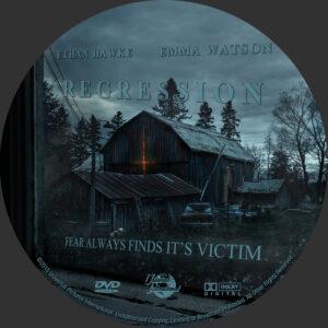 Regression dvd label
