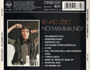 Renato Zero - No! Mamma, no! - Back