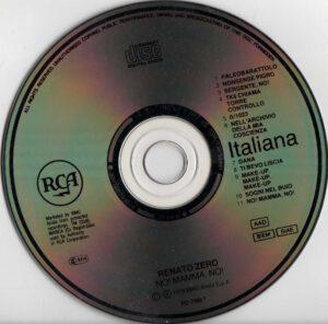 Renato Zero - No! Mamma, no! - CD