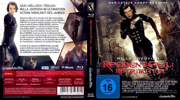 Resident Evil: Retribution (2012) R2 Blu-Ray German