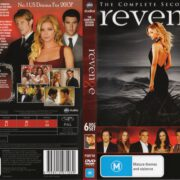 Revenge: Season 2 (2013) R4 DVD Cover & Label