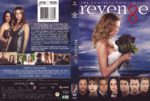 Revenge: Season 3 (2014) R1 DVD Cover & Label