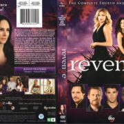 Revenge: Season 4 (2015) R1 DVD Cover & Label