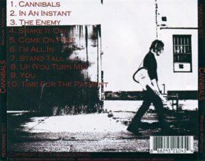 Richie Kotzen - Cannibals - Back