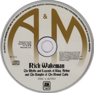 Rick Wakeman - The Myths And Legends Of King Arthur And The Knights Of The Round Table - CD (1-2)