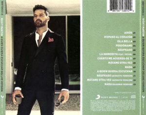 Ricky Martin - A Quien Quiera Escuchar - Back