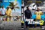 Ride Along 2 (2016) R1 CUSTOM DVD Cover