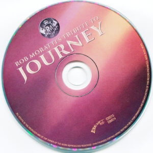 Rob Moratti - Tribute To Journey - CD