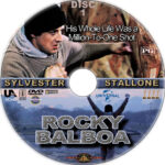 Rocky (1990) R1 Custom DVD labels