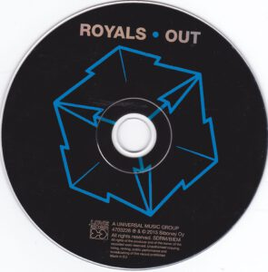 Royals - Out - CD