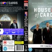 House of Cards: Season 3 (2015) R2 Custom