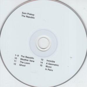 Sam Prekop - The Republic - CD