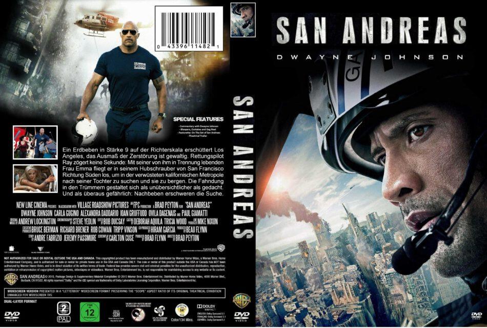 San Andreas Dvd Cover 2015 R2 Custom German